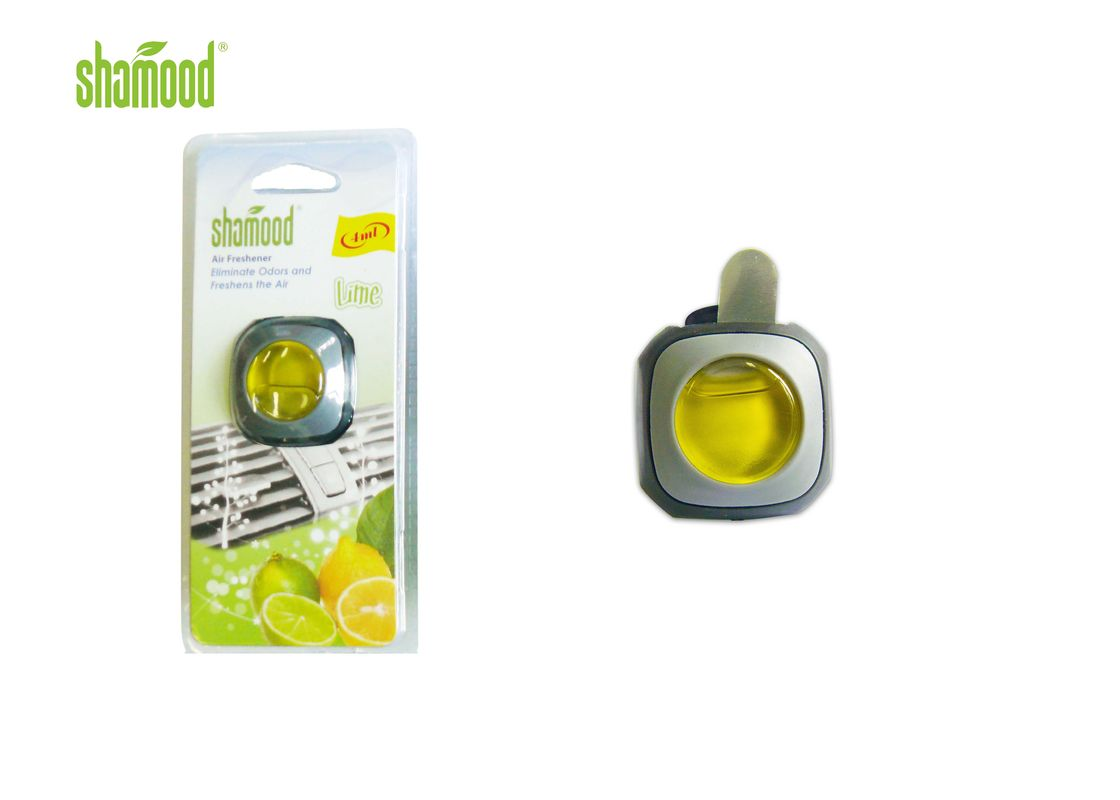 Lime Fragrance Small Liquid Car Air Freshener Eco - Friendly 4ML Volume