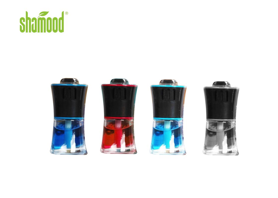 Liquid Four Fragrances Aromatic Liquid Car Air Freshener With Clip