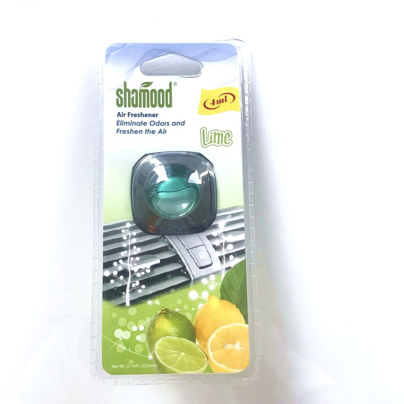 Square Refresh Vent Auto 4ml Liquid Air Freshener For Cars Pine Tree